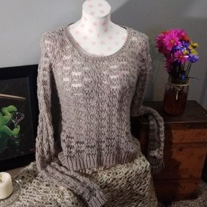 Cute Crocheted AEO Sweater